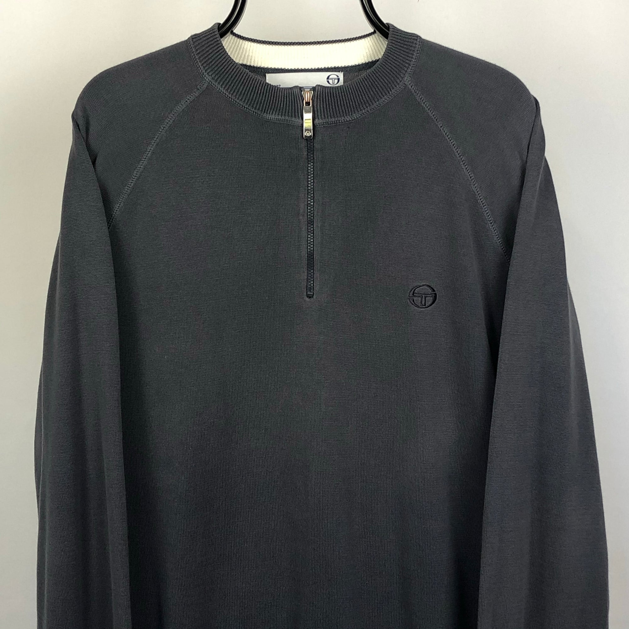 Vintage Sergio Tacchini 1/4 Zip - Men's Large/Women's XL