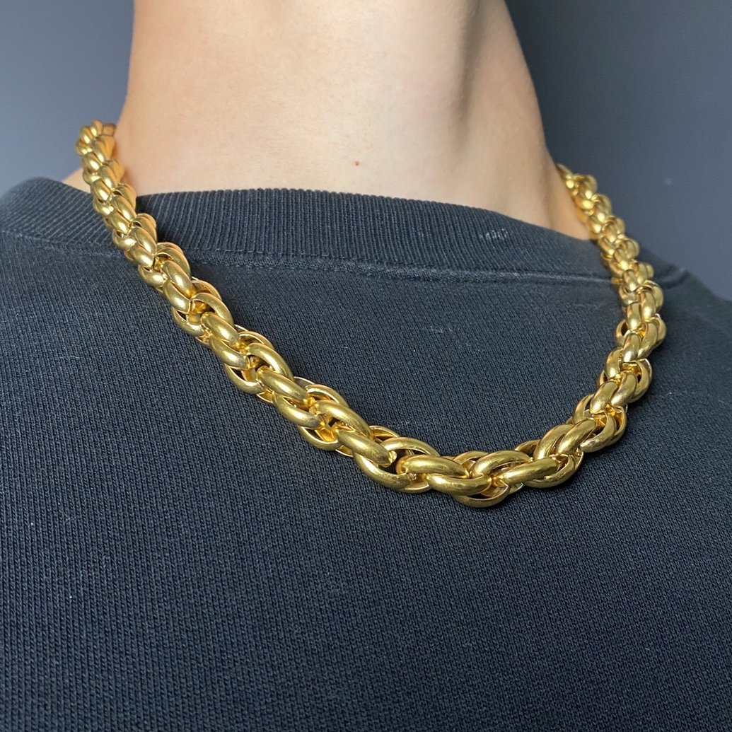 Gold Rope Chain - 11.5mm! - Vintique Clothing