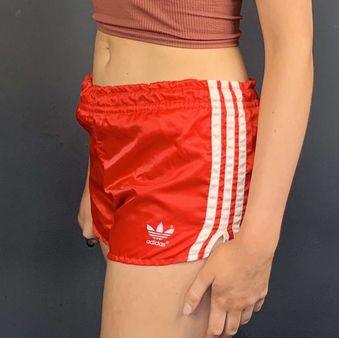 Vintage Adidas Sprinter Shorts - Small - Vintique Clothing