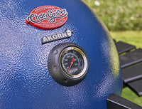 Char-Griller E56720 AKORN Kamado Charcoal Grill, Pack of 1, Blue