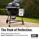 Weber 18301001 Summit Charcoal Grill, Black