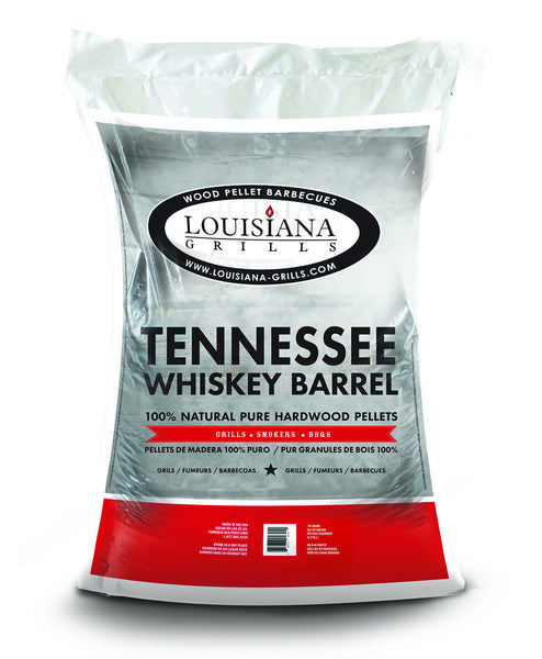 Louisiana Grills 55410 Pellets, 40-Pound, Tennessee Whiskey Barrel