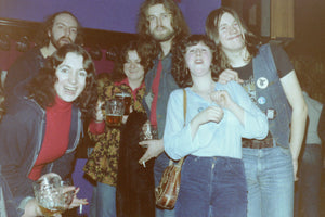 When Sheffield metal went underground Shirley's committee saved it (and her camera captured it!)