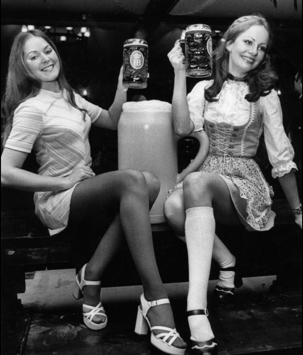 Miss Hofbrau competition was seventies' nirvana