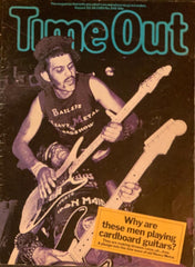 Bailey Brothers on the front of Time Out magazine