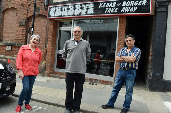 Chubbys takeaway on Cambridge Street