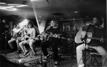 Def Leppard perform at the Wapentake in 1995