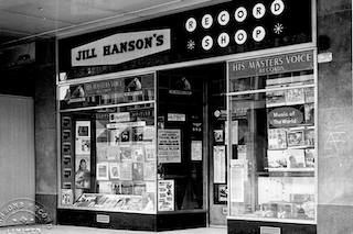 Jill Hanson's Records which features in the book