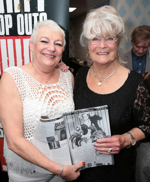 Maureen Lawford (left) and Joyce Beevers reunite to celebrate new Barnsley book