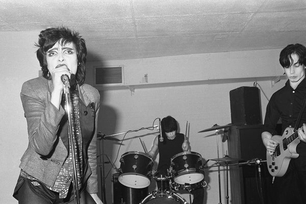 Siouxsie at the Banshees at The Limit - by Pete Hill