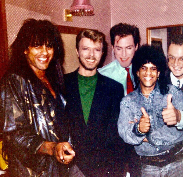 The Bailey Brothers with David Bowie and Tin Machine