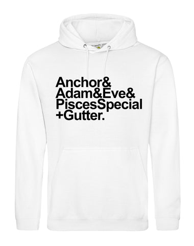 Anchor to Adam & Eve unisex fit hoodie - various colours