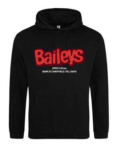 Baileys unisex fit hoodie - various colours