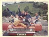 Torch DJ Alan Day and friends putting a Ford Cortina to good use