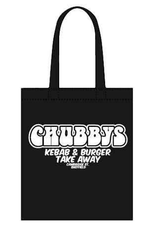 Chubbys canvas tote bag