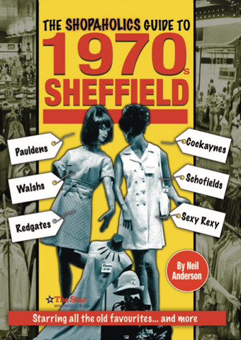 Shopaholics Guide to 1970s Sheffield cover