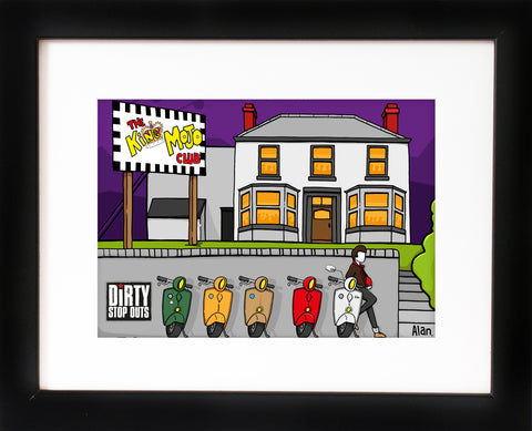 King Mojo - signed Alan Pennington art print - framed  - with FREE UK postage
