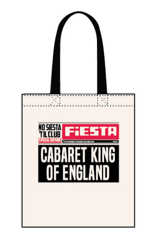 Fiesta canvas tote bag
