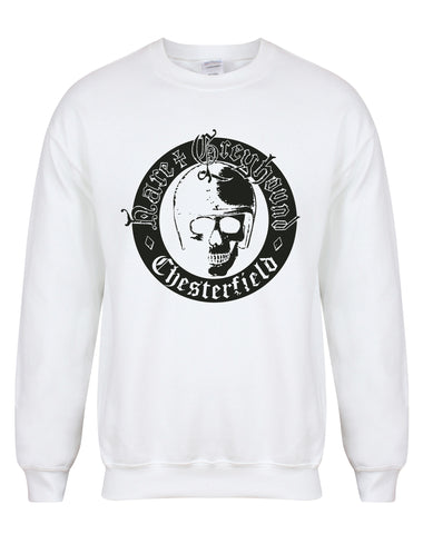 Hare & Greyhound skull unisex sweatshirt - various colours