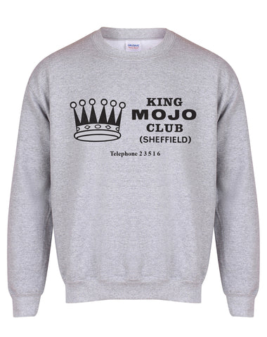 King Mojo unisex fit sweatshirt - various colours