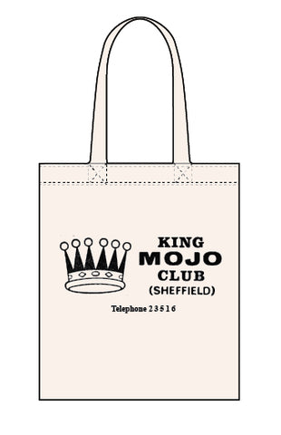 King Mojo canvas tote bag