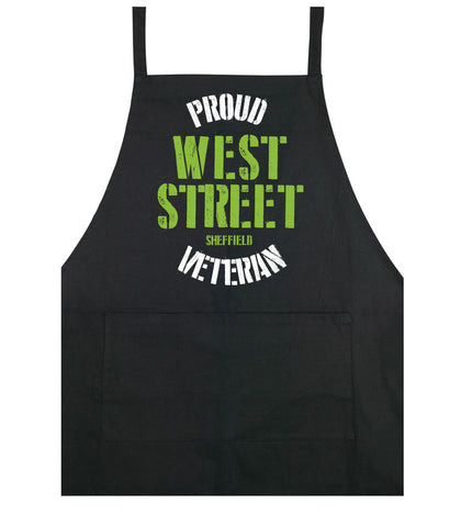 West Street Veteran cooking apron