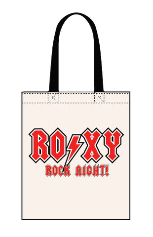 Roxy Rock Night canvas tote bag