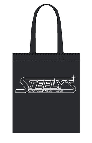 Steely's canvas tote bag