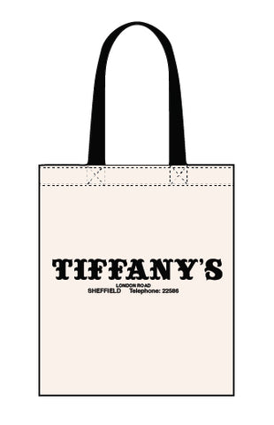 Tiffany's canvas tote bag