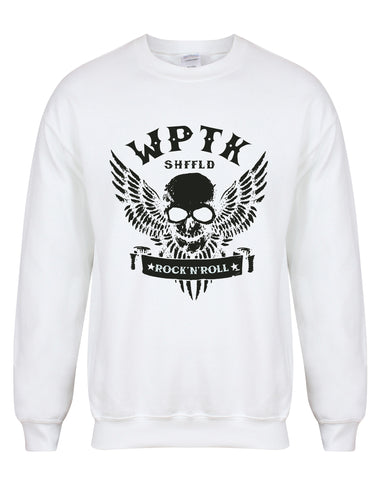 WPTK (Wapentake) skull/wings unisex fit sweatshirt - various colours