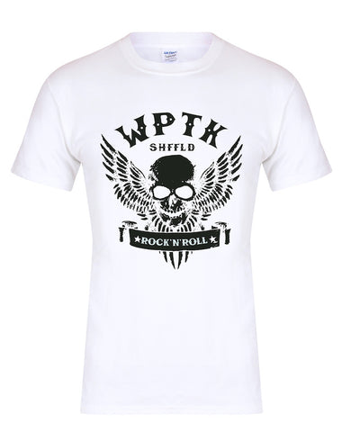 WPTK (Wapentake) skull/wings unisex fit T-shirt - various colours