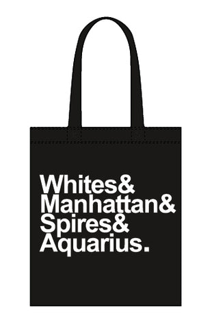 Destination Aquarius canvas tote bag