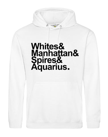Destination Aquarius unisex fit hoodie - various colours