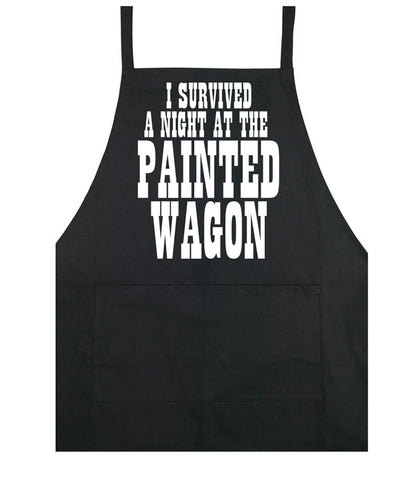 Painted Wagon cooking apron