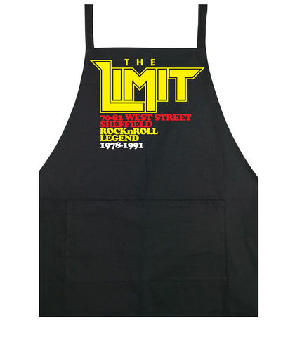 Limit anniversary (yellow logo) - cooking apron