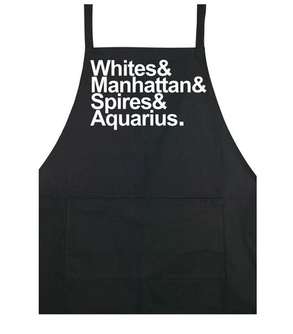 Destination Aquarius cooking apron