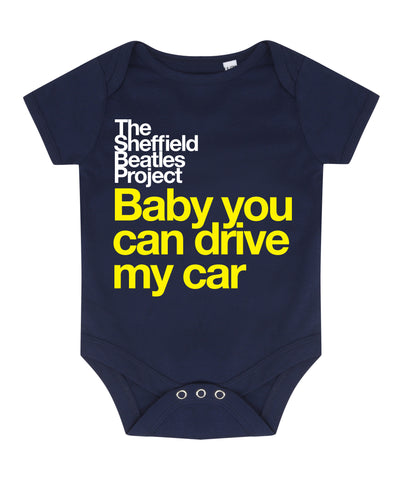 The Sheffield Beatles Project - Baby You Can Drive - babygrow