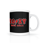 Roxy Rock Night mug