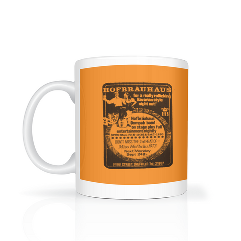 Hofbrähaus advert mug