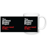 The Sheffield Beatles Project - All You Need Is Tea - on black background