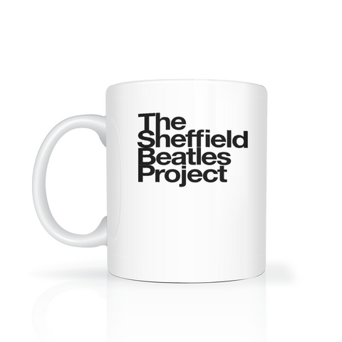 The Sheffield Beatles Project - black  logo on white background