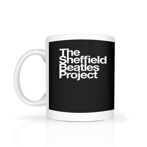 The Sheffield Beatles Project - white logo on black background