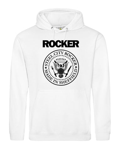 Steel City Rocker - Ramones Design - unisex fit hoodie - various colours