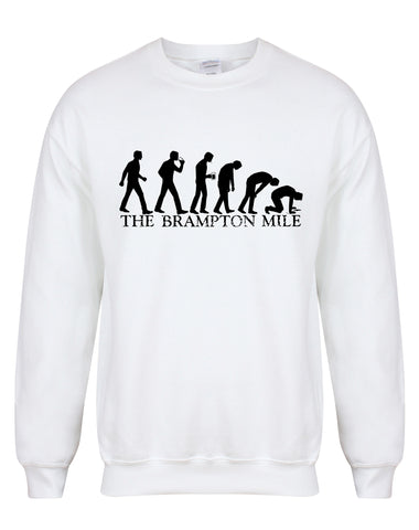 Brampton Mile unisex fit sweatshirt - various colours
