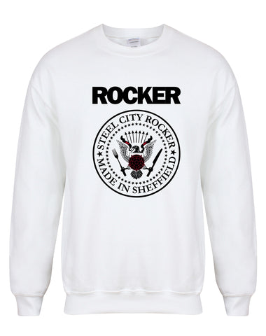 Steel City Rocker - Ramones design - unisex fit sweatshirt - various colours