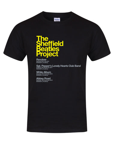 The Sheffield Beatles Project - 4 Amazing Shows - unisex fit T-shirt - various colours