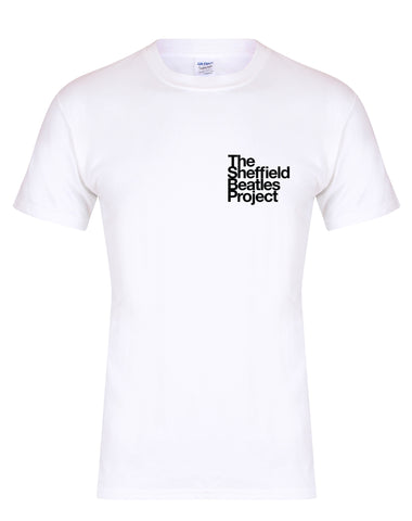 The Sheffield Beatles Project Small Logo unisex fit T-shirt - various colours