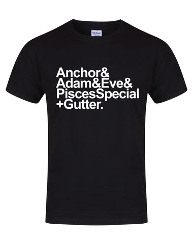 Anchor to Adam & Eve unisex fit T-shirt - various colours