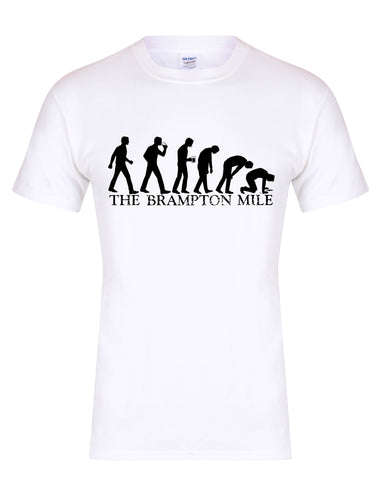 Brampton Mile unisex fit T-shirt - various colours