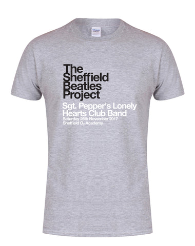 The Sheffield Beatles Project - Sgt.Pepper's Lonely Hearts Club Band - unisex fit T-shirt - various colours